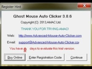Ghost Mouse Auto Clicker Free Download