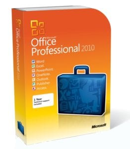 Microsoft Office 2010 Professional Download