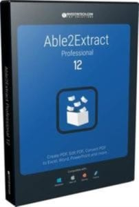 Able2Extract Professional 12.0.2.0 + Portable Download