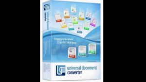 Universal Document Converter 6.8.1712.15160 Free Download