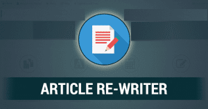 Best Free Article Rewriter