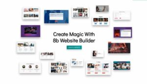 8b Online Website Builder