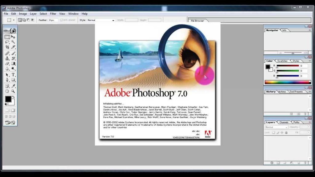Adobe Photoshop 7 Free Download Full Version