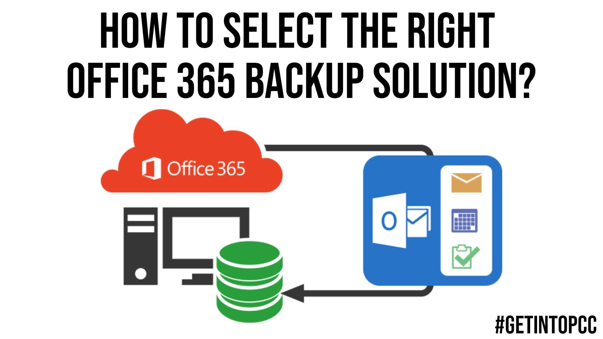 Microsoft Office 365 backup Solution