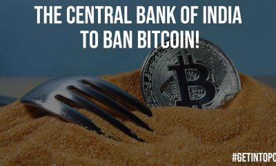 The Central Bank of India to Ban Bitcoin