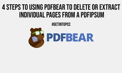 4 Steps to Using PDFBear to Delete or Extract Individual Pages From a PDF