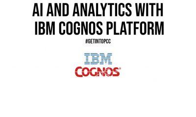 AI and Analytics With IBM Cognos Platform